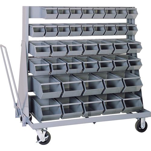Mobile Bin Rack