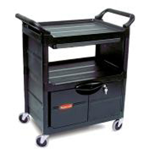 Service Utility Cart with Cabinet