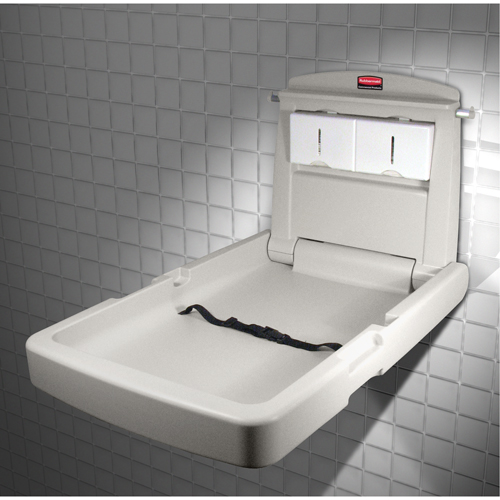 Vertical Baby Changing Stations