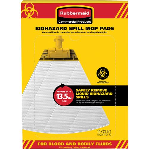 Biohazard Spill Mop Pads