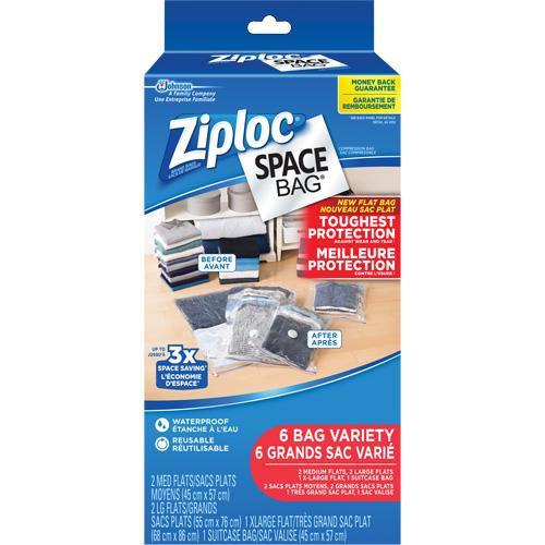 Ziploc® Space Bag® Storage Bag Variety Pack