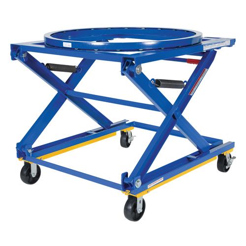Adjustable Pallet Stand - Mobile