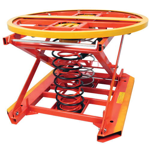 Spring Operated Pallet Positioner and Leveler