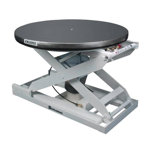 EZ Loader® E Self-Levelling Pallet Positioner - Stainless Platform