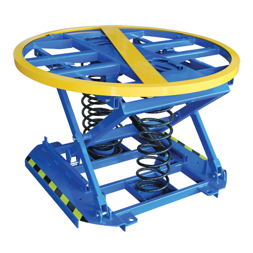 Spring-Operated Pallet Lifter