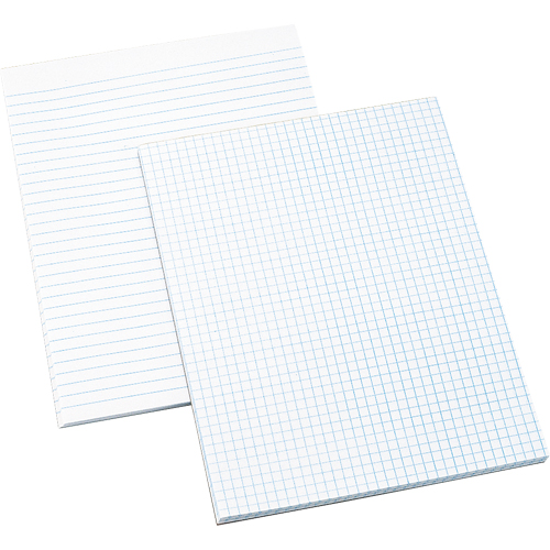 Tablettes de papier blanc OTF719 | Office Plus