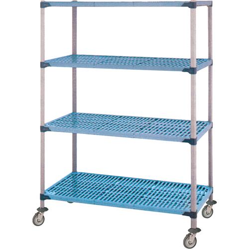 Coated Wire Shelf Unit