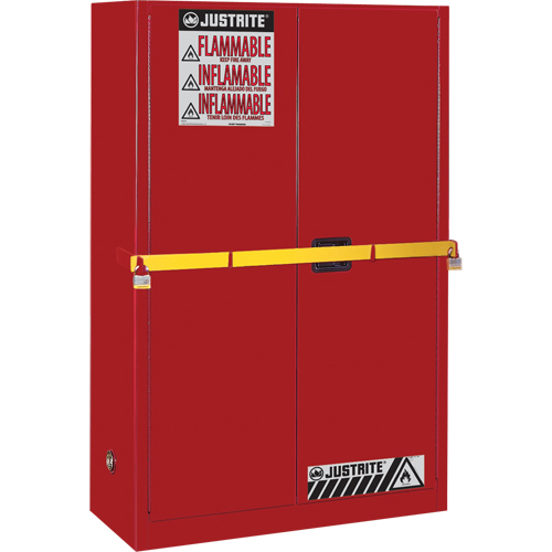 High Security Flammables Safety Cabinet with Steel Bar