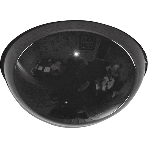 Drop Ceiling Smoked Dome Mirror
