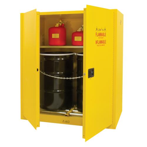 Vertical Drum Storage Cabinet