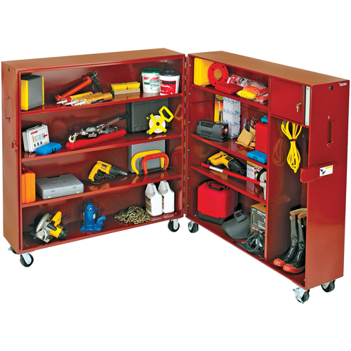 Clam Shell Tool Cabinet