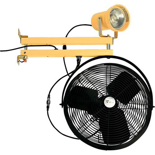 Double Strut With Fan