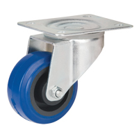 Blue Elastic Rubber Caster MO511 | Office Plus