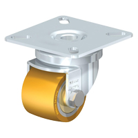 Low-Profile Polyurethane Elastomer Caster MO717 | Office Plus