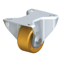 Low-Profile Polyurethane Elastomer Caster MO726 | Office Plus