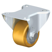 Low-Profile Polyurethane Elastomer Caster MO728 | Office Plus