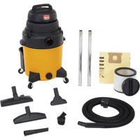 Lightweight Industrial-Duty Wet/Dry Vacuums 6.5 Peak HP Single Stage Motor NI142 | Office Plus