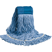 MOP HEAD LOOPED WIDE BAND BLUE NI727 | Office Plus