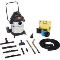 Powerful Industrial Wet/Dry Vacuums 2.5 & 3 Peak HP 2-Stage Motor NI730 | Office Plus