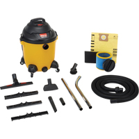 Powerful Industrial 10 US Gallon Wet/Dry Vacuums 2.5 Peak HP NI732 | Office Plus