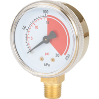 Brass Gauges NT618 | Office Plus