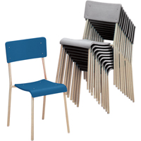Chaises empilables Ventura OD920 | Office Plus