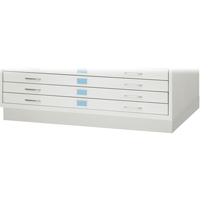 Closed Base for Facil™ Flat File Cabinets OJ919 | Office Plus