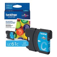 CARTOUCHE TELECOPIEUR BROTHER MFC 250C CYAN      OK177 | Office Plus