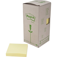 Blocs-notes autocollants Post-it<sup>MD</sup> recyclés OK991 | Office Plus