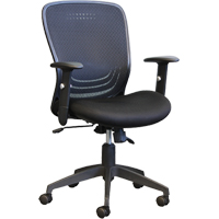 Chaises de bureau à mi-dos en maille de filet avec inclinaison synchronisée Activ<sup>MD</sup> A-99 ON711 | Office Plus