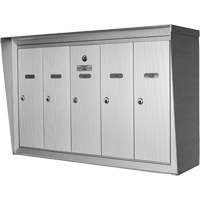 Single Deck Wall Mounted Mailboxes OP382 | Office Plus