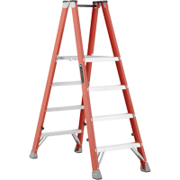 Industrial Heavy-Duty Fibreglass 2-Way Platform Stepladders (FMP1500 Series) VD428 | Office Plus