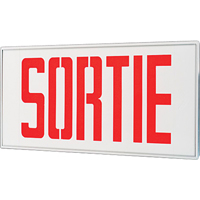 Stella Exit Signs - Sortie XB933 | Office Plus