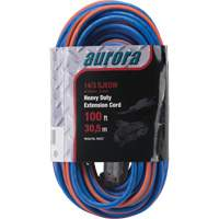 Triple Tap All-Weather TPE-Rubber Extension Cords with Light Indicator XH237 | Office Plus