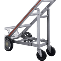 Aluminum Hand Truck Accessories - Retractable 4th Wheel XZ687 | Office Plus