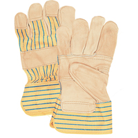 Grain Cowhide Fitters Patch Palm Gloves SAP230 | Office Plus